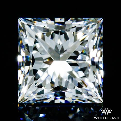 0.605 ct F VVS2 A CUT ABOVE® Princess Super Ideal Cut Diamond
