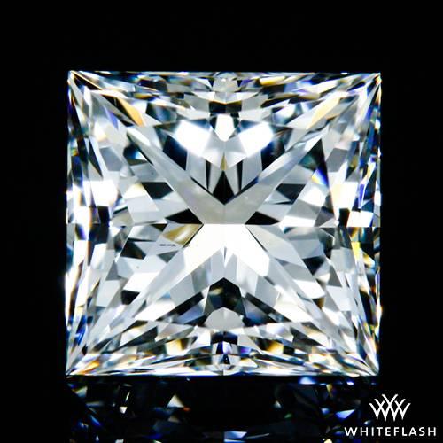 0.641 ct F VS2 A CUT ABOVE® Princess Super Ideal Cut Diamond