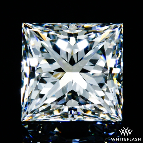 0.641 ct F VS2 A CUT ABOVE® Princess Super Ideal Cut Diamond