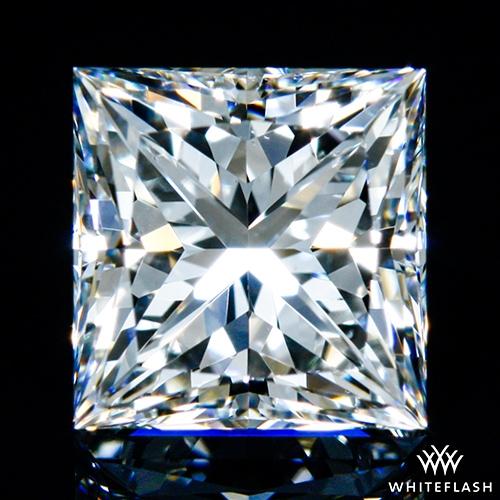 1.007 ct G VVS1 A CUT ABOVE® Princess Super Ideal Cut Diamond