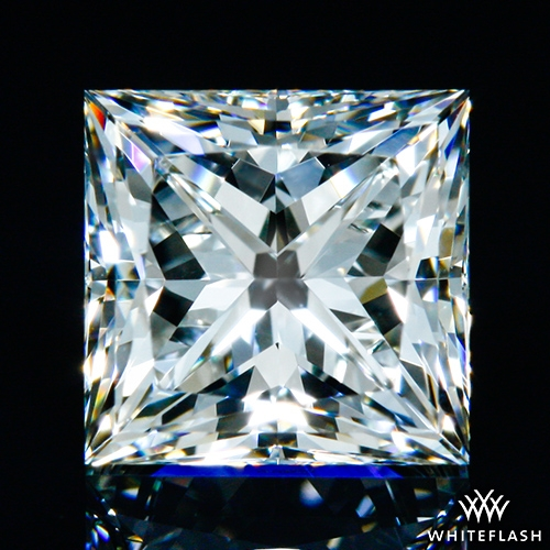 0.991 ct I VS1 A CUT ABOVE® Princess Super Ideal Cut Diamond