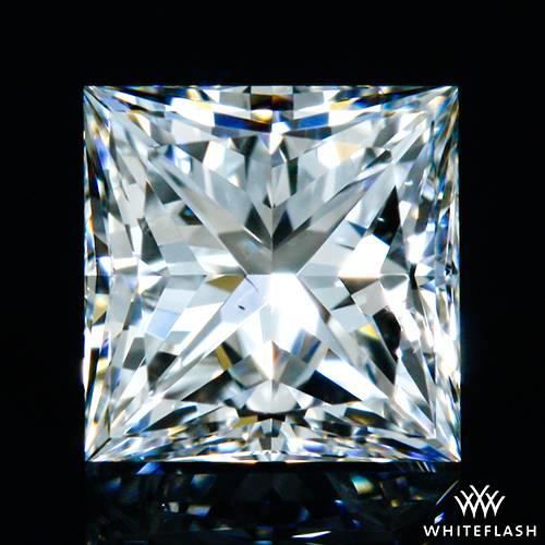 0.618 ct F VS2 A CUT ABOVE® Princess Super Ideal Cut Diamond