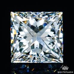 0.741 ct J VS2 A CUT ABOVE® Princess Super Ideal Cut Diamond