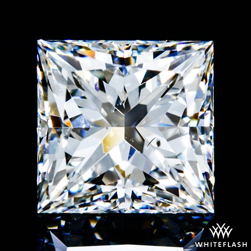 1.012 ct H SI1 A CUT ABOVE® Princess Super Ideal Cut Diamond