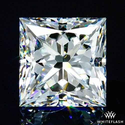 1.106 ct F VVS2 A CUT ABOVE® Princess Super Ideal Cut Diamond