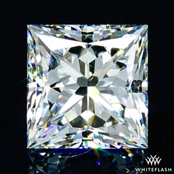 1.106 ct F VVS2 A CUT ABOVE® Princess Super Ideal Cut Diamond