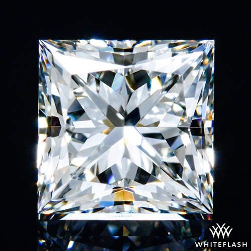 0.91 ct I VS2 A CUT ABOVE® Princess Super Ideal Cut Diamond