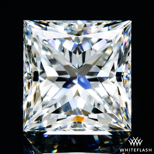 0.73 ct F VS1 A CUT ABOVE® Princess Super Ideal Cut Diamond