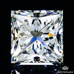 1.228 ct H VS2 A CUT ABOVE® Princess Super Ideal Cut Diamond