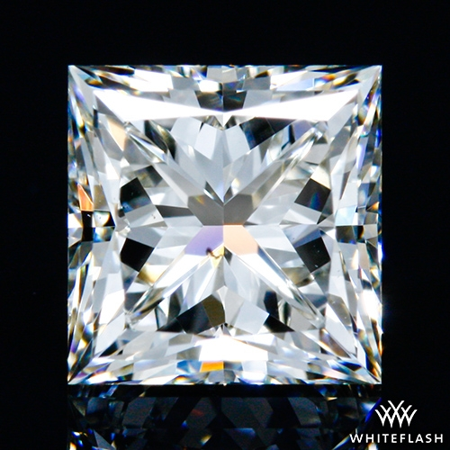 1.011 ct I SI1 A CUT ABOVE® Princess Super Ideal Cut Diamond