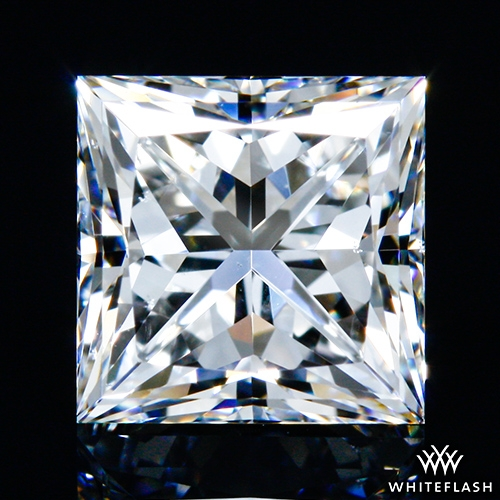 1.005 ct F VS2 A CUT ABOVE® Princess Super Ideal Cut Diamond