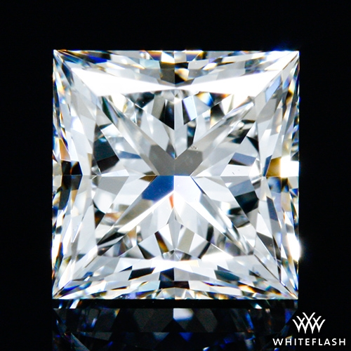 1.011 ct G VS2 A CUT ABOVE® Princess Super Ideal Cut Diamond