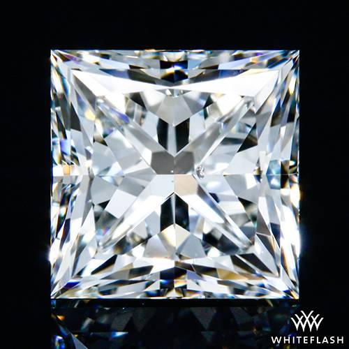 1.021 ct I SI1 A CUT ABOVE® Princess Super Ideal Cut Diamond