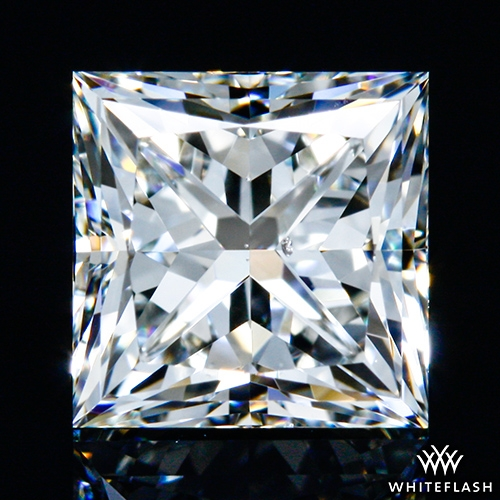 1.021 ct I SI1 A CUT ABOVE® Princess Super Ideal Cut Diamond
