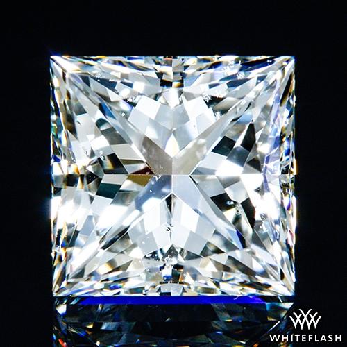 1.027 ct I SI1 A CUT ABOVE® Princess Super Ideal Cut Diamond