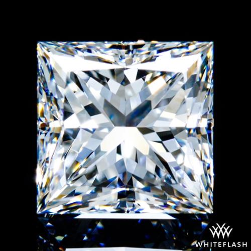 1.021 ct F VVS2 A CUT ABOVE® Princess Super Ideal Cut Diamond
