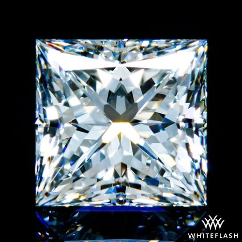 1.445 ct H VS2 A CUT ABOVE® Princess Super Ideal Cut Diamond