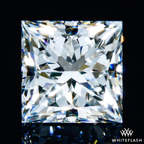 1.021 ct G SI1 A CUT ABOVE® Princess Super Ideal Cut Diamond