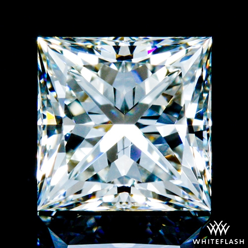 0.605 ct I VS2 A CUT ABOVE® Princess Super Ideal Cut Diamond