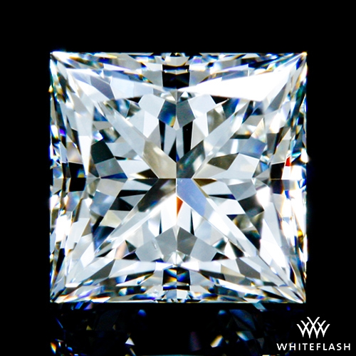1.016 ct H VS2 A CUT ABOVE® Princess Super Ideal Cut Diamond