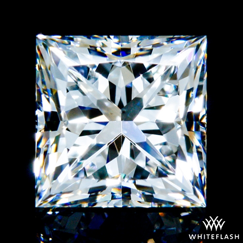 0.901 ct F VS2 A CUT ABOVE® Princess Super Ideal Cut Diamond