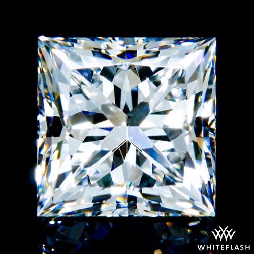 0.901 ct F VS2 A CUT ABOVE® Princess Super Ideal Cut Diamond
