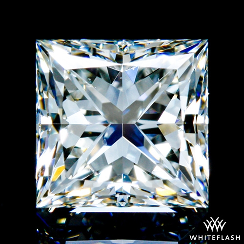 0.731 ct I VS2 A CUT ABOVE® Princess Super Ideal Cut Diamond