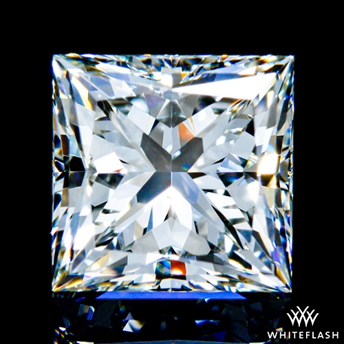 1.061 ct I SI1 A CUT ABOVE® Princess Super Ideal Cut Diamond
