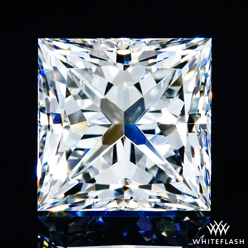0.91 ct F VS1 A CUT ABOVE® Princess Super Ideal Cut Diamond