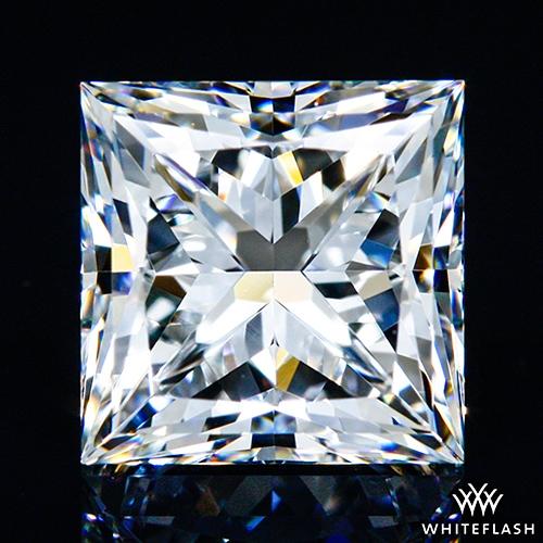 1.128 ct F VVS1 A CUT ABOVE® Princess Super Ideal Cut Diamond