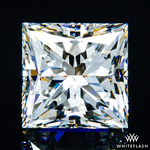 0.902 ct I VS2 A CUT ABOVE® Princess Super Ideal Cut Diamond