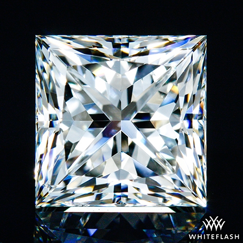 1.21 ct I SI1 A CUT ABOVE® Princess Super Ideal Cut Diamond