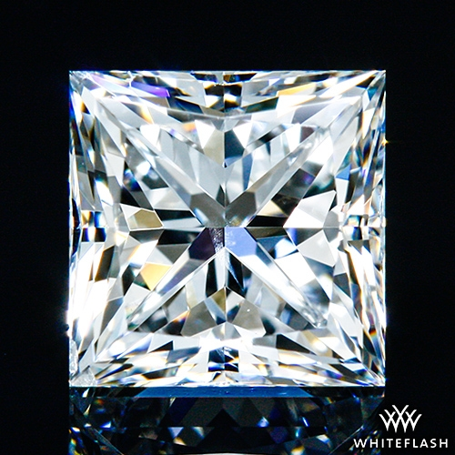 1.016 ct F SI1 A CUT ABOVE® Princess Super Ideal Cut Diamond