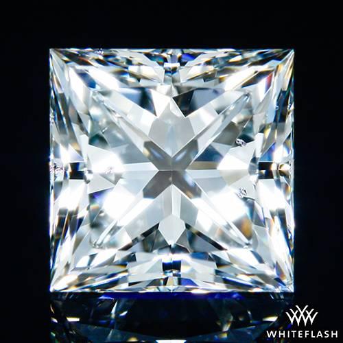 1.243 ct H SI1 A CUT ABOVE® Princess Super Ideal Cut Diamond