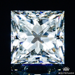 1.243 ct H SI1 A CUT ABOVE® Princess Super Ideal Cut Diamond