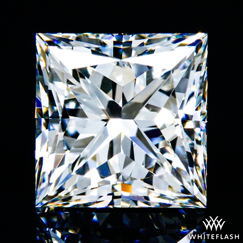 0.804 ct I VS1 A CUT ABOVE® Princess Super Ideal Cut Diamond