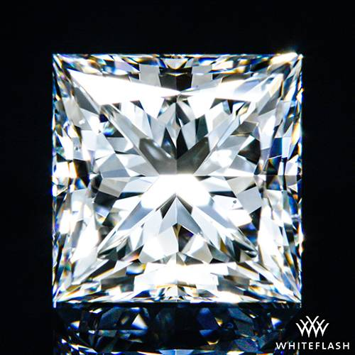 1.298 ct G VS2 A CUT ABOVE® Princess Super Ideal Cut Diamond