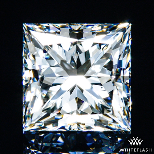 1.298 ct G VS2 A CUT ABOVE® Princess Super Ideal Cut Diamond