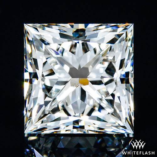 0.811 ct J VS2 A CUT ABOVE® Princess Super Ideal Cut Diamond