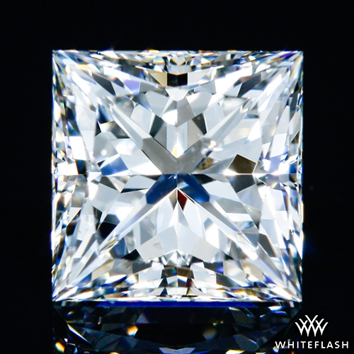 1.097 ct G SI1 A CUT ABOVE® Princess Super Ideal Cut Diamond