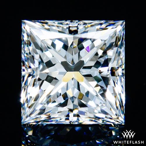 1.205 ct F VS1 A CUT ABOVE® Princess Super Ideal Cut Diamond