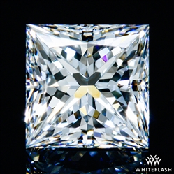 1.205 ct F VS1 A CUT ABOVE® Princess Super Ideal Cut Diamond