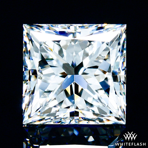 1.315 ct G VVS2 A CUT ABOVE® Princess Super Ideal Cut Diamond