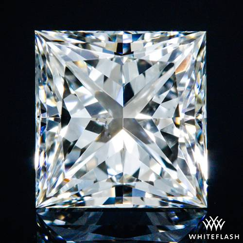 0.521 ct I SI1 A CUT ABOVE® Princess Super Ideal Cut Diamond