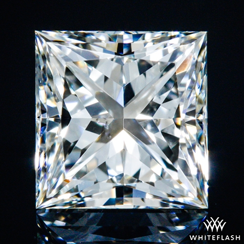 0.521 ct I SI1 A CUT ABOVE® Princess Super Ideal Cut Diamond