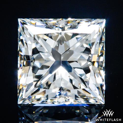 1.135 ct I VS2 A CUT ABOVE® Princess Super Ideal Cut Diamond