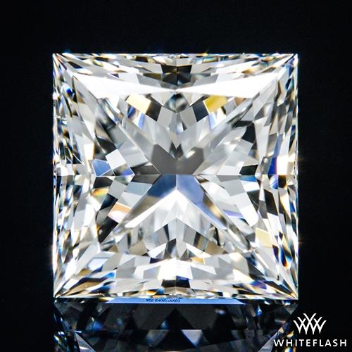 1.51 ct I VS2 A CUT ABOVE® Princess Super Ideal Cut Diamond