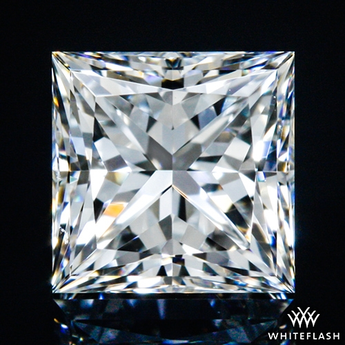 0.51 ct G VVS2 A CUT ABOVE® Princess Super Ideal Cut Diamond