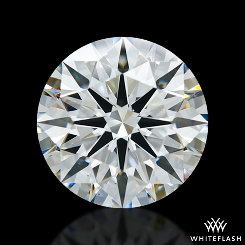 2.588 ct I VS1 A CUT ABOVE® Hearts and Arrows Super Ideal Round Cut Loose Diamond