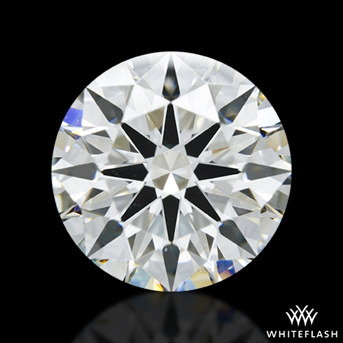 3.083 ct G VS1 A CUT ABOVE® Hearts and Arrows Super Ideal Round Cut Loose Diamond